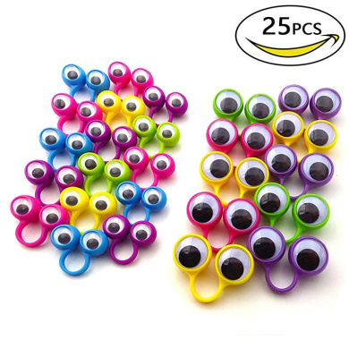 SUPVOX Wiggle Googly Eyes with Self-Adhesive for DIY Scrapbooking Crafts Toy Accessories 50PCS