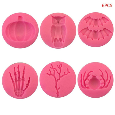 Cybrtrayd 45StK50H-H062 Spider Lolly Halloween Chocolate Mold with Lollipop Supply Kit