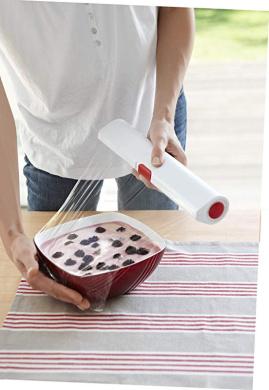 Emsa Click /& Cut dispenser for foil or plastic wrap length 33 cm 2 colours