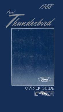 Bishko OEM Maintenance Owner/'s Manual Bound for Ford Thunderbird 1963