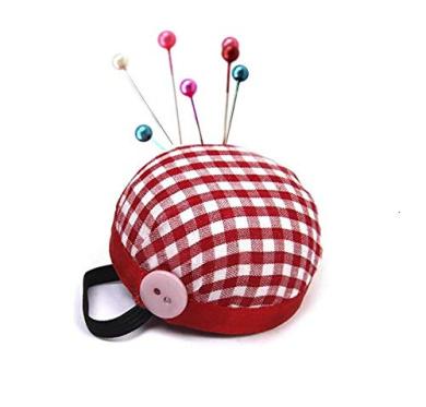 ULTNICE Wrist Pin Cushion Pin-up Cushions Wearable Pincushions Sewing Tools 2Pcs 5CM