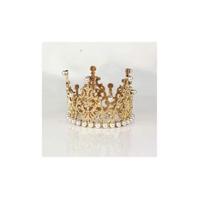 Dylandy Headband Hairband Hair Wrap Beads Rhinestone Lace Band Bridal Tiara for Women Girl